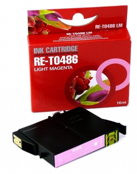 Alternativ für Epson C13T04864010, T0486 Tinte Light Magenta